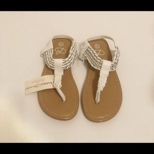 156ddf1c79249 Kids  Silver Heel Sandals on Poshmark